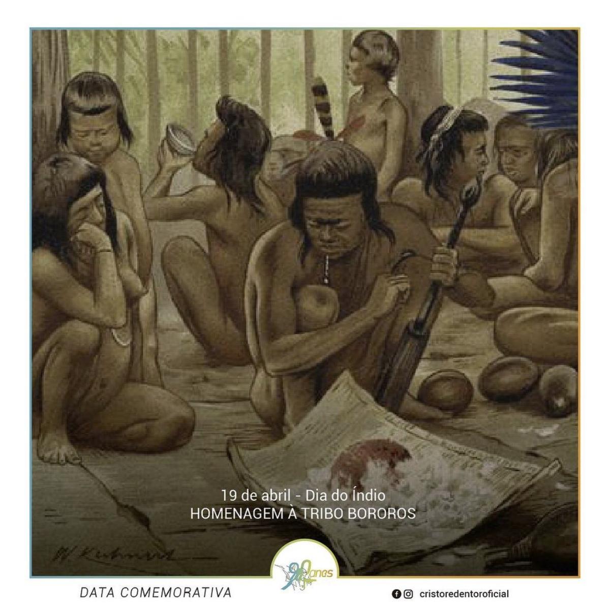 Homenagem Tribo Bororos