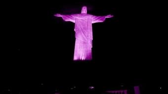 Cristo Redentor Outubro Rosa 05102015174040